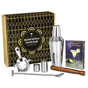 Manhattan Cocktail Shaker Set